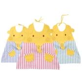 罩衣夏季薄款男童飯兜防水反穿衣吃飯兒童圍裙畫畫衣圍兜女孩