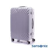 Samsonite新秀麗 28吋 TRU-FRAME PC時尚硬殼鋁框行李箱(炫銀)