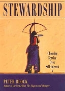 二手書博民逛書店《Stewardship: Choosing Service Over Self Interest》 R2Y ISBN:1881052869