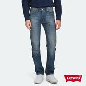 Levis 男款 514低腰合身直筒牛仔褲 / 復古刷白 / 無彈性