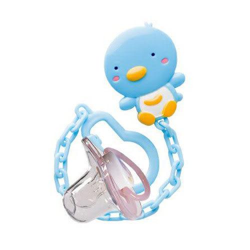 【奇買親子購物網】PUKU BABY造型奶嘴鍊+初生安撫奶嘴