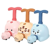 兒童益智玩具-空氣動力車(1組入) 粉豬/黃虎/藍熊 款式可選【小三美日】