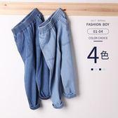 男童牛仔褲春夏新款兒童寬鬆長褲小童休閒寶寶防蚊褲夏季薄款