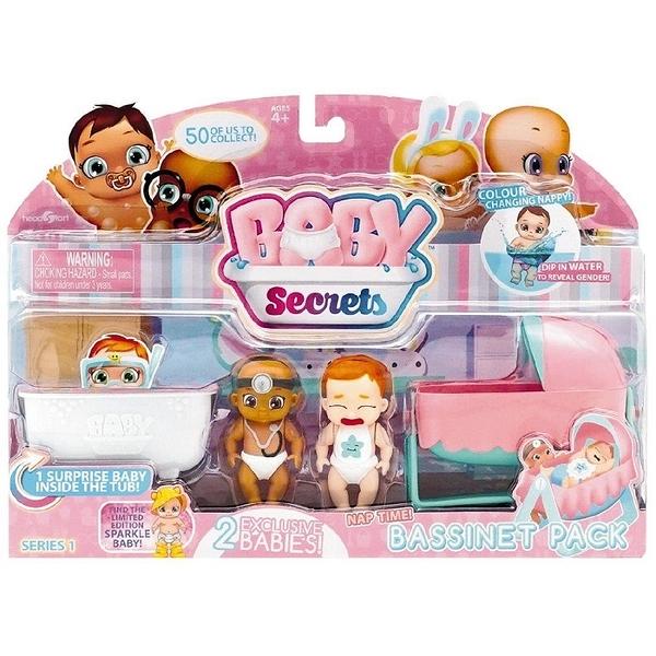 【鯊玩具Toy Shark】Baby Secrets 寶貝小秘密主題遊戲組 搖搖床