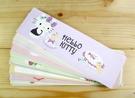【震撼精品百貨】Hello Kitty 凱蒂貓~kitty便條紙-長條形-S