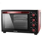 【中彰投電器】大同(35L)雙溫控旋風電烤箱,TOT-B3507A【全館刷卡分期+免運費】