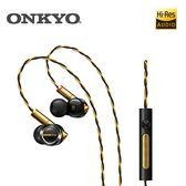 [先創直營] ONKYO E900M 混合結構入耳式耳機(黑金)