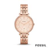 FOSSIL JACQUELINE 玫瑰金不鏽鋼女錶 36mm