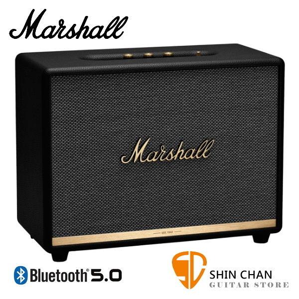 【預購】Marshall Woburn II 藍牙喇叭 經典黑 全新2代 Woburn Ⅱ 無線喇叭 藍牙音箱音響 / 台灣公司貨