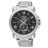 【僾瑪精品】SEIKO 精工 Premier 經典萬年曆人動電能時尚腕錶/42mm/7D56-0AE0D(SNP141J1)