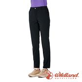 【wildland 荒野】女 彈性CORDURA 抗UV功能長褲『黑色』0A91309 戶外 休閒 運動 吸濕 排汗 快乾