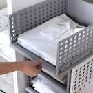 收納籃 收納盒 收納箱 DIY 可疊加 收納筐 玩具 衣物 收納 抽屜式衣櫥收納籃【W040】米菈生活館