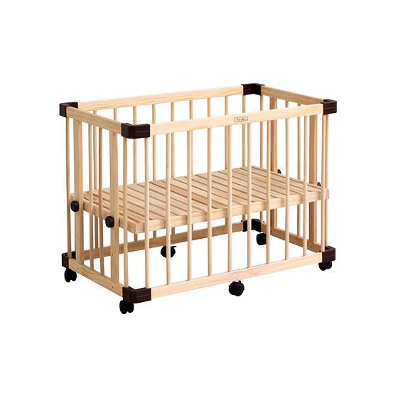 【預購-預計9月中到貨】日本 farska 溫婉木質多功能嬰兒床(中)(95x65x65cm)