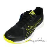 (A7) ASICS 亞瑟士 兒童 UPCOURT 3排球鞋 羽球鞋 膠底 1074A005-003黑黃 [陽光樂活=]
