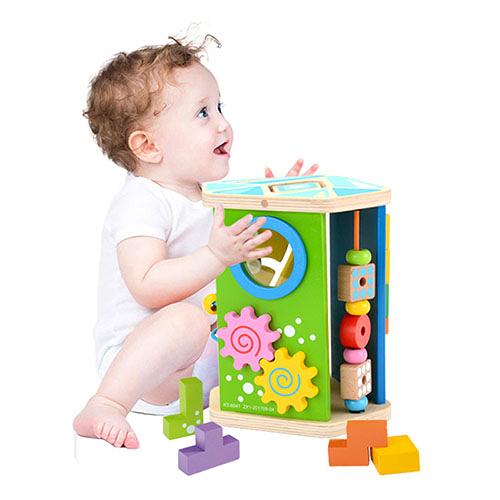 五邊形多功能幼兒益智玩具(兒童教育玩具)