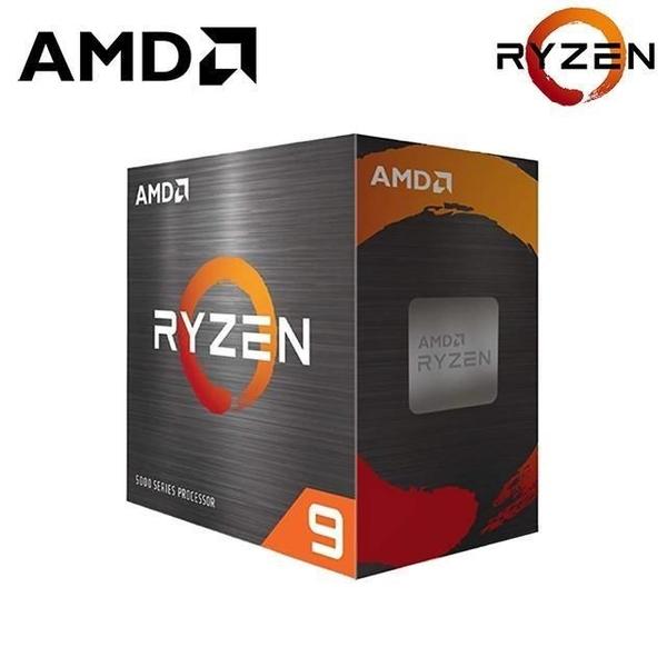 AMD Ryzen R9-5900X (3.7GHz 12核心/32緒/無風扇/無內顯) 中央處理器【刷卡含稅價】