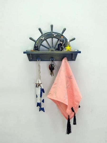 創意北歐玄關墻面裝飾鑰匙掛鉤客廳壁掛飾臥室房間衣帽鉤架免打孔