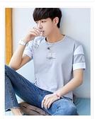 男士短袖t恤潮流夏裝男生圓領韓版純棉半袖打底衫男裝上衣服 淇朵市集