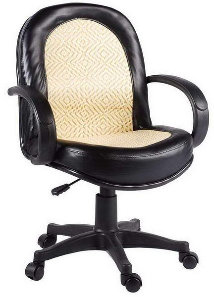 HP343-03 辦公椅(竹面/氣壓+後仰)(小型)