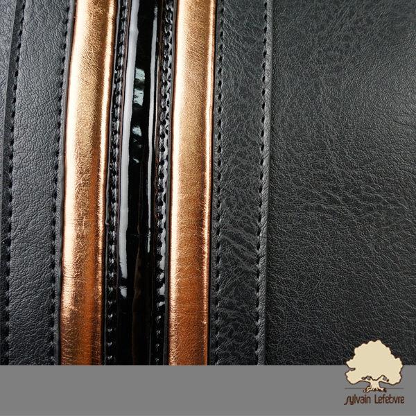 【Sylvain Lefebvre希梵】簡約休閒時尚百搭防潑水男包 側背包(黑)