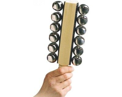 LP 品牌 CP373 雙排雪鈴 (12顆鈴)【CP-373/LP CP Sleigh Bells/12 Bells/Latin Percussion】
