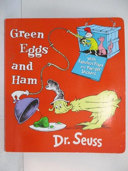 【書寶二手書T1/少年童書_KEN】Green Eggs and Ham: With Fabulous Flaps and…