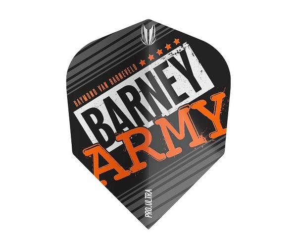 【TARGET】VISION ULTRA BARNEY ARMY Shape Black 334330 鏢翼 DARTS