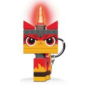 LEGO樂高玩電影系列2 憤怒獨角貓鑰匙圈燈