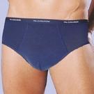 【南紡購物中心】【DADADO】基礎休閒 M-3L基礎休閒三角褲 超值2入組(柔情藍)