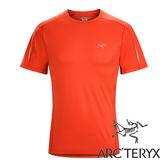 Arc'teryx 加拿大 始祖鳥 男 Motus快乾 短袖圓領衫『主教紅』L06844 吸濕排汗透氣T-shirt短袖運動衫