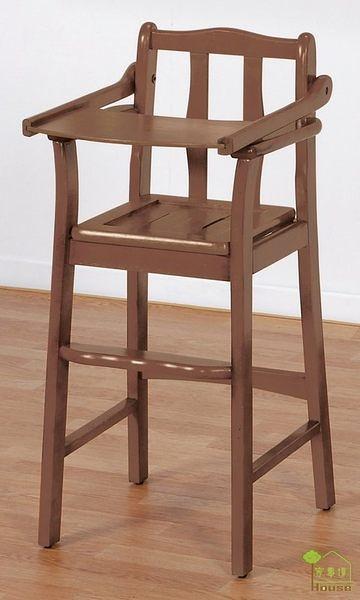 [ 家事達] TMT 寶寶實木椅/餐椅-木椅面 TAR-27A