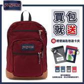 【JANSPORT】COOL STUDENT系列後背包 -聖誕紅(JS-43689)