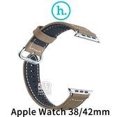 【妃凡】HOCO Apple Watch 38mm 優尚皮錶帶 - 奢華款 腕帶 (K)