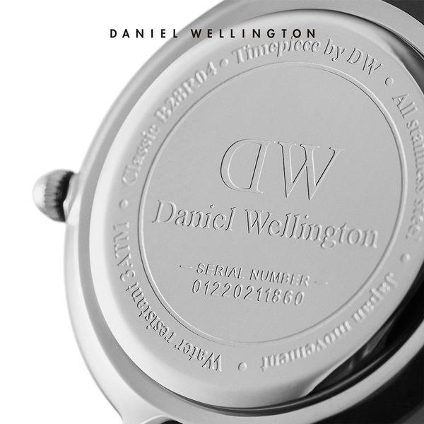 Daniel Wellington DW 手錶 28mm銀框 Classic Petite 星鑽銀米蘭金屬編織