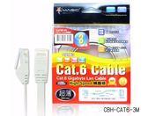 【Magic】Cat.6 超薄 扁線 Hight-Speed 網路線 3米 RJ45 純銅材質 CBH-CAT6-3M