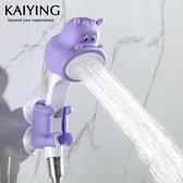 洗澡玩具兒童洗澡花灑噴水玩具男孩女孩寶寶戲水玩具卡通淋浴噴頭 聖誕節