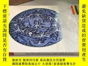 二手書博民逛書店sale罕見of fine chinese ceramics,j