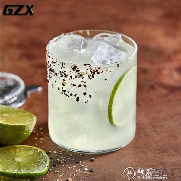 GZX無鉛水晶輕薄無底威士忌杯古典雞尾酒杯old fashioned冰球酒杯 電購3C