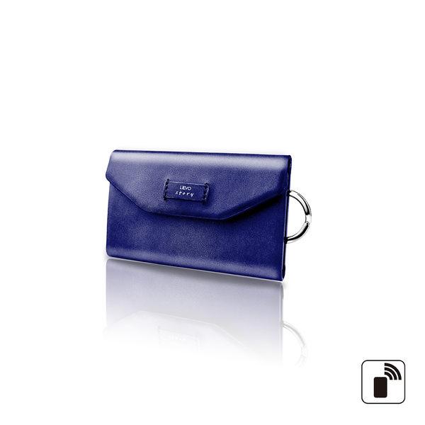 【LIEVO】 STORY - 卡片鑰匙包_深礦藍 情人節禮物