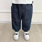 男童牛仔褲 牛仔褲秋裝春秋款兒童裝長褲子男童寶寶1歲3小童洋氣潮