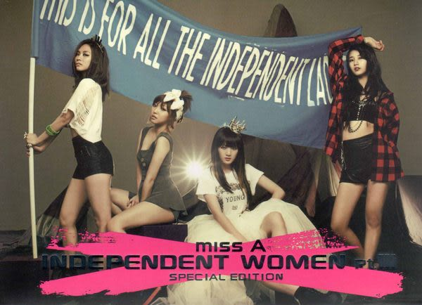 miss A   Independent Women pt.III Special Edition  亞洲特別盤 CD附DVD (音樂影片購)