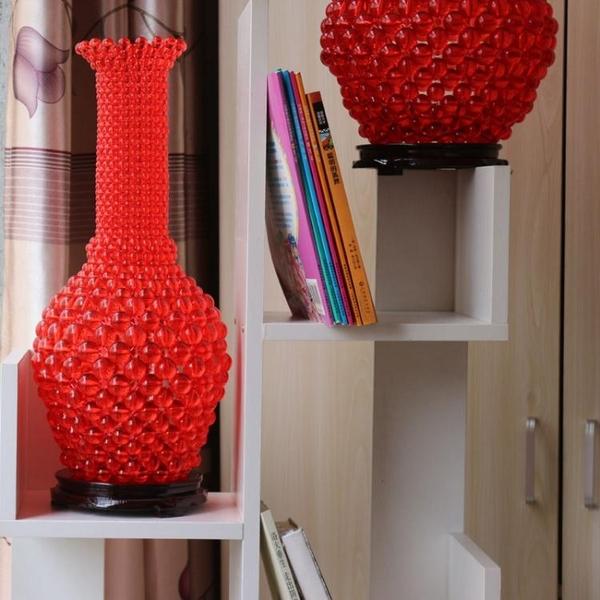 手工串珠大號青花瓷花瓶材料包diy散珠子編織工藝品製作家居擺件 英雄聯盟