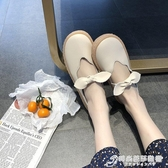 英倫鞋 護士潮鞋英倫風軟底平底黑色小皮鞋女一腳蹬春秋孕婦秋季外穿 時尚芭莎