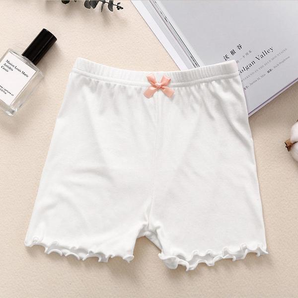 女童安全褲薄款夏季莫代爾防走光打底褲小女孩兒童打底褲中大童寶寶短褲 88110