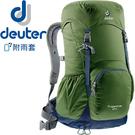 Deuter 3430116-綠/ 灰 Zugspitze Aircomfort 24L網架直立式透氣背包