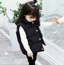 兒童馬甲 冬季外穿兒童羽絨棉馬甲春加厚韓版女孩外套寶寶馬夾男【快速出貨八折鉅惠】