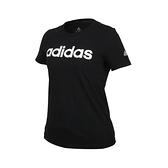 ADIDAS 女短袖T恤(純棉 休閒 慢跑 上衣 愛迪達≡體院≡ GL0769