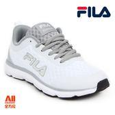 【FILA】男女款休閒運動/慢跑鞋 -白(1J319R144/5J319R144)【全方位運動戶外館】