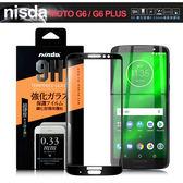 NISDA for MOTO G6 PLUS/G6+ 滿版鋼化 0.33mm玻璃保護貼-黑
