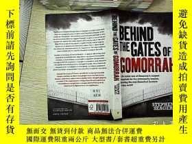 二手書博民逛書店Behind罕見the gates of gomorrah(在蛾